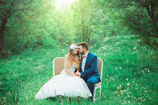 boho style wedding, vintage wedding, bride and groom, sincere feelings, a holiday for two, a wedding in retro style, fashionable toning, creative color