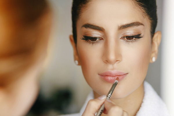 Make up for beautiful bride