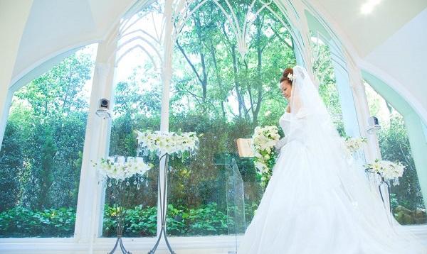 緑あふれるチャペルで結婚式を!名古屋セントアクアチャペル3選
