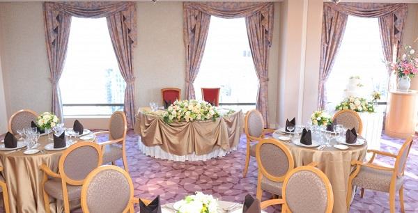 伝統フレンチのお食事会結婚式!ホテルグランドパレス クラウンレストラン