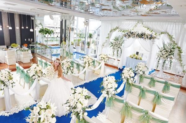 仙台駅からアクセス良好! クリスタルリゾートで挙げる家族婚