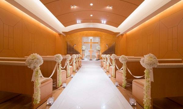 横浜ベイホテル東急のチャペルで叶える、ナチュラルな家族婚
