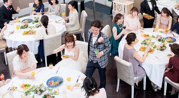 【名古屋・星ヶ丘】星ヶ丘アートグレイスクラブで会費制結婚式!