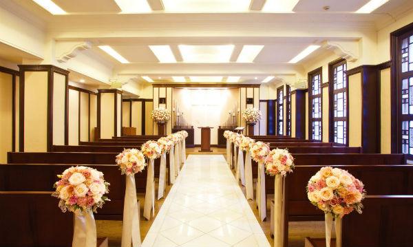 【神保町・九段下】家族婚ならホテルのチャペルで!神保町&九段下2選