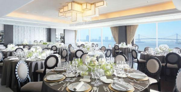 お食事会結婚式は、ホテルインターコンチネンタル東京ベイで!