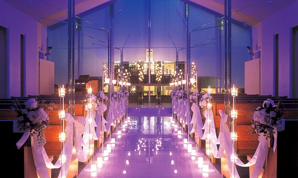 北九州市の「ホテルクラウンパレス」で、家族婚とお披露目パーティーを!