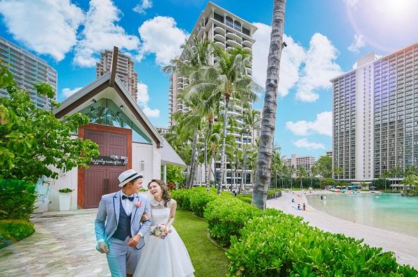 憧れのハワイで結婚式!「家族挙式ハワイ」のチャペルプランをご紹介