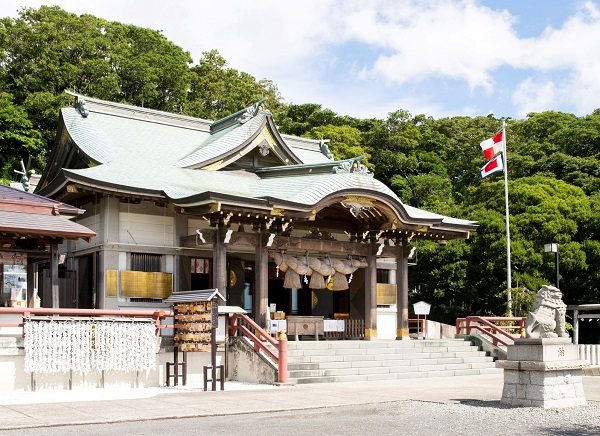 平安時代より横浜・本牧を守護する本牧神社で挙式を