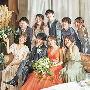 家族挙式・家族婚のTOMODACHIウェディングパーティプラン