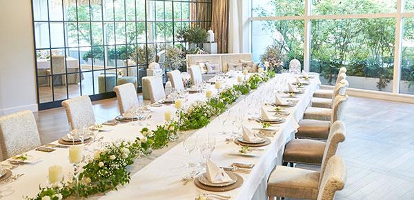 家族挙式・家族婚の挙式+20名会食プラン